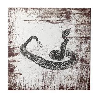 rattle snake tile