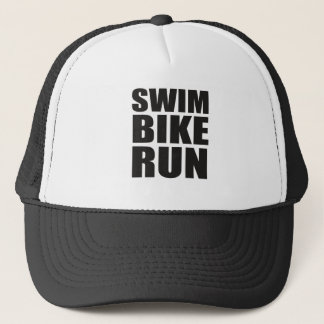 Rattleship Triathlon Gear Trucker Hat