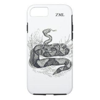 Rattlesnake Country Western Personalized iPhone 7 Case