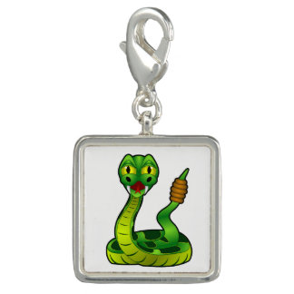 Rattlesnake Photo Charm