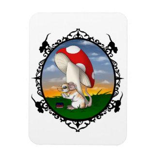 Ratty bookworm Magnet
