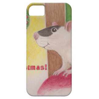 Ratty Christmas Case For The iPhone 5