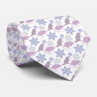 Ratty Christmas Rat Tie