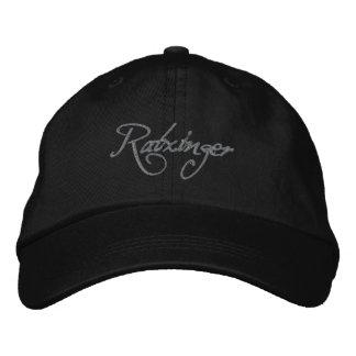 Ratzinger Baseballcap black Embroidered Hat