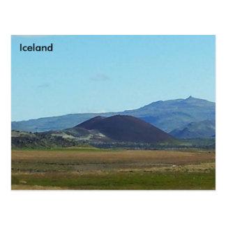 Raudakula Mountain, near Hjardarfell, Iceland Postcard