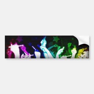 Rave Bumpersticker Bumper Sticker