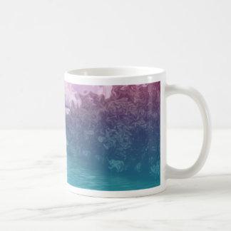 Rave Lovers Key Trippy Pink Blue Ocean Coffee Mug