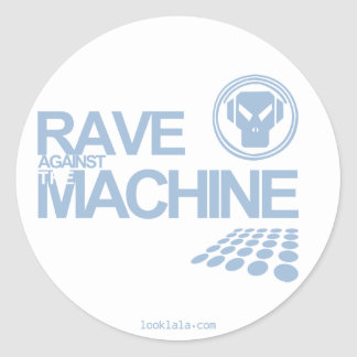 Rave Machine Classic Round Sticker