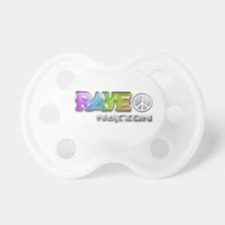 Rave Nation Pacifiers