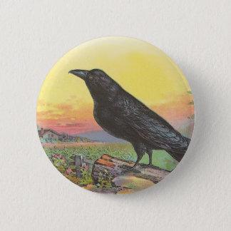 Raven 2 Inch Round Button