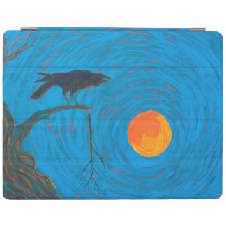 Raven and Full Moon iPad Smart Cover