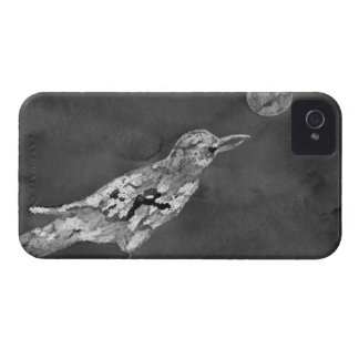 Raven and Moon iPhone 4 Case-Mate Cases