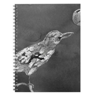 Raven and Moon Notebook