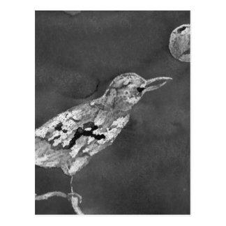 Raven and Moon Postcard