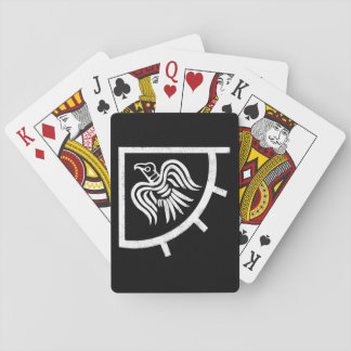 Raven Banner Viking Flag Playing Cards