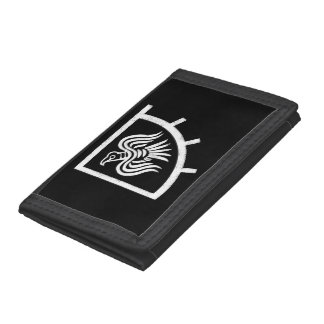 Raven Banner Viking Flag Tri-fold Wallets