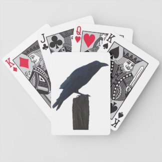 RAVEN BICYCLE PLAYING CARDS