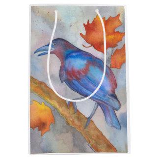 Raven Blackbird Art Gift Bag