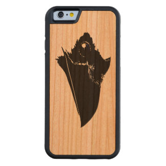 Raven Carved Cherry iPhone 6 Bumper Case