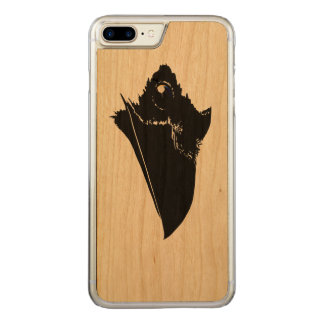 Raven Carved iPhone 7 Plus Case