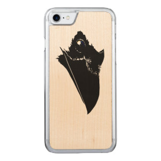 Raven Carved iPhone 8/7 Case