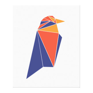 Raven Coin RVN Canvas Print