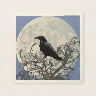 Raven Disposable Napkin