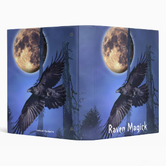 Raven Fantasy Album 3 Ring Binders