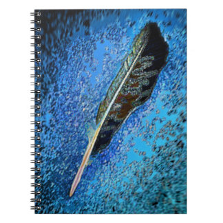 Raven Feather Notebook