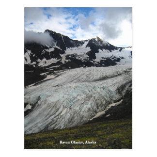 Raven Glacier, Alaska Postcard