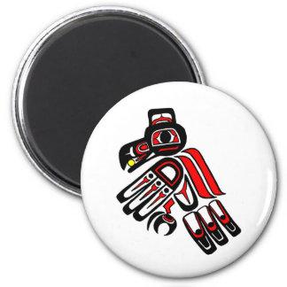 raven haida 2009 2 inch round magnet