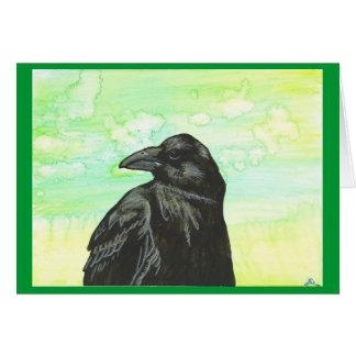 """""""Raven I"""" card"""