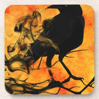 Raven in Tree Coaster