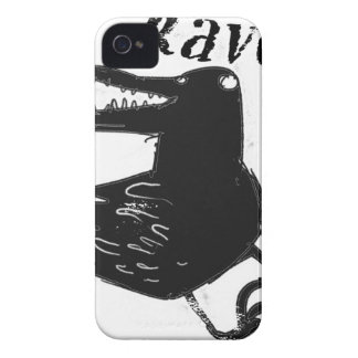 raven iPhone 4 Case-Mate case
