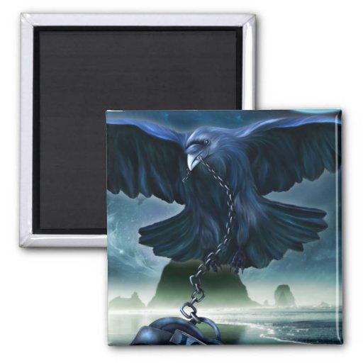 Raven Love Magnet
