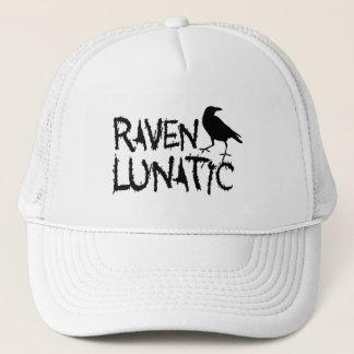 Raven Lunatic Black Crow Trucker Hat