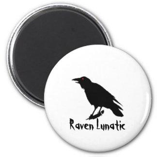 Raven Lunatic Magnet