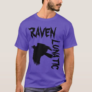 Raven Lunatic Purple T-Shirt