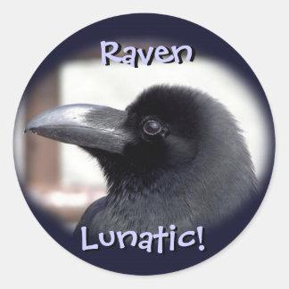 Raven Lunatic! Stickers