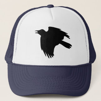 Raven Lunatic Trucker Hat
