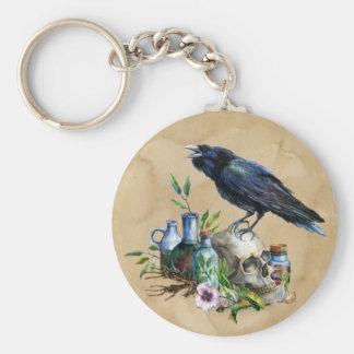 Raven Magick Keychain