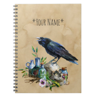 Raven Magick Notebook