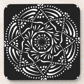 Raven Mandala Coaster