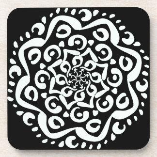 Raven Mandala Coasters