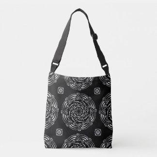 Raven Mandala Crossbody Bag