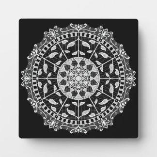 Raven Mandala Plaque