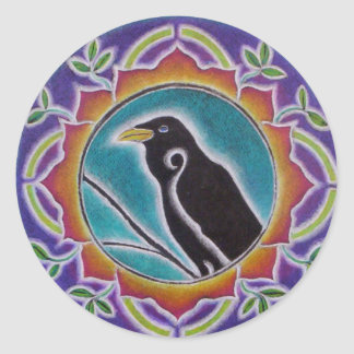 Raven Mandala Sticker