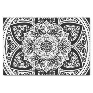 Raven Mandala Tissue Paper