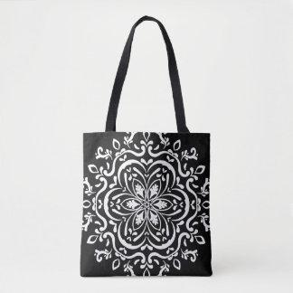 Raven Mandala Tote Bag