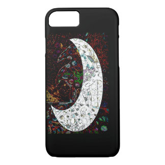 Raven Moon iPhone 7 Case